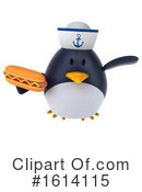 Penguin Clipart #1614115 by Julos