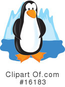 Penguin Clipart #16183 by Maria Bell