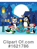 Penguin Clipart #1621786 by visekart