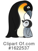 Penguin Clipart #1622537 by visekart