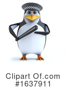 Penguin Clipart #1637911 by Steve Young