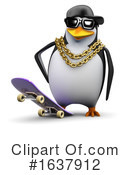Penguin Clipart #1637912 by Steve Young
