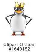 Penguin Clipart #1640152 by Steve Young