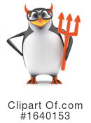 Penguin Clipart #1640153 by Steve Young