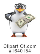 Penguin Clipart #1640154 by Steve Young