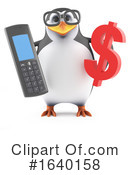 Penguin Clipart #1640158 by Steve Young