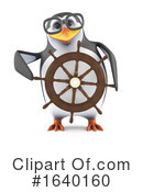 Penguin Clipart #1640160 by Steve Young