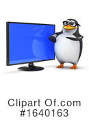 Penguin Clipart #1640163 by Steve Young