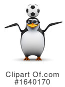 Penguin Clipart #1640170 by Steve Young