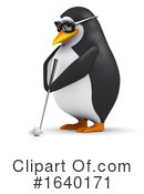 Penguin Clipart #1640171 by Steve Young
