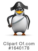 Penguin Clipart #1640178 by Steve Young