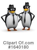 Penguin Clipart #1640180 by Steve Young
