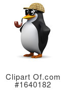 Penguin Clipart #1640182 by Steve Young