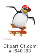 Penguin Clipart #1640183 by Steve Young