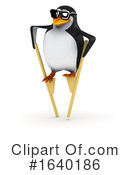 Penguin Clipart #1640186 by Steve Young