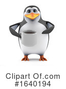 Penguin Clipart #1640194 by Steve Young