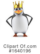 Penguin Clipart #1640196 by Steve Young