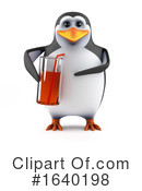 Penguin Clipart #1640198 by Steve Young
