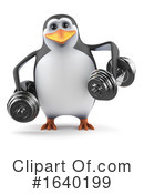 Penguin Clipart #1640199 by Steve Young