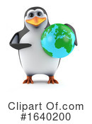 Penguin Clipart #1640200 by Steve Young