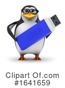 Penguin Clipart #1641659 by Steve Young