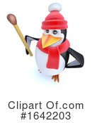 Penguin Clipart #1642203 by Steve Young