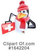 Penguin Clipart #1642204 by Steve Young
