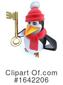Penguin Clipart #1642206 by Steve Young