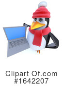 Penguin Clipart #1642207 by Steve Young