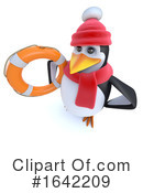 Penguin Clipart #1642209 by Steve Young