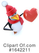 Penguin Clipart #1642211 by Steve Young