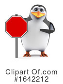 Penguin Clipart #1642212 by Steve Young