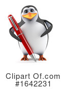 Penguin Clipart #1642231 by Steve Young