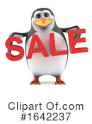 Penguin Clipart #1642237 by Steve Young