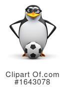 Penguin Clipart #1643078 by Steve Young