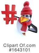 Penguin Clipart #1643101 by Steve Young