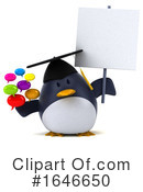 Penguin Clipart #1646650 by Julos