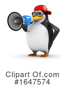 Penguin Clipart #1647574 by Steve Young