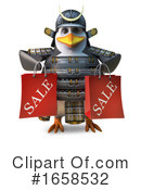 Penguin Clipart #1658532 by Steve Young