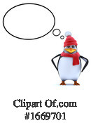Penguin Clipart #1669701 by Steve Young