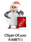 Penguin Clipart #1669711 by Steve Young
