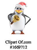 Penguin Clipart #1669712 by Steve Young