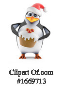 Penguin Clipart #1669713 by Steve Young