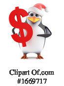 Penguin Clipart #1669717 by Steve Young