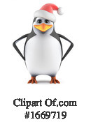 Penguin Clipart #1669719 by Steve Young