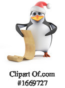 Penguin Clipart #1669727 by Steve Young