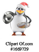 Penguin Clipart #1669729 by Steve Young