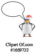 Penguin Clipart #1669732 by Steve Young