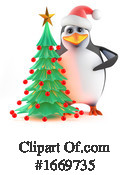 Penguin Clipart #1669735 by Steve Young