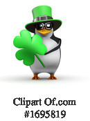 Penguin Clipart #1695819 by Steve Young
